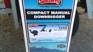 даунриггер Scotty 1050 комплектация и установка, downrigger Scotty 1050