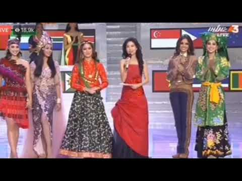 Nepal Winner Indonesia 1st ru (Top 5) BWAP Miss World 2018