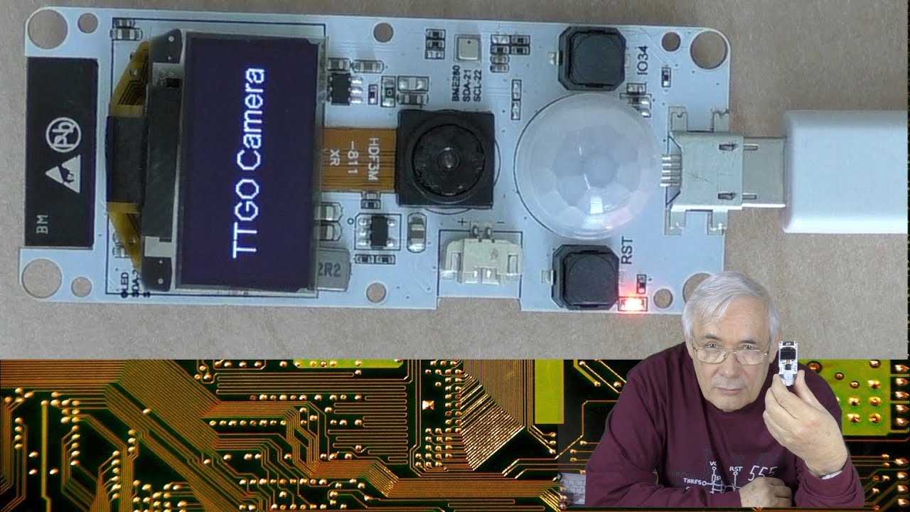 Plauderei am Donnerstag 52: TTGO ESP32 Camera und andere Dinge