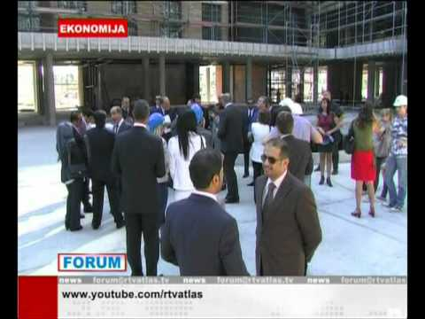UAE delegation visit to Atlas Capital Center, Montenegro