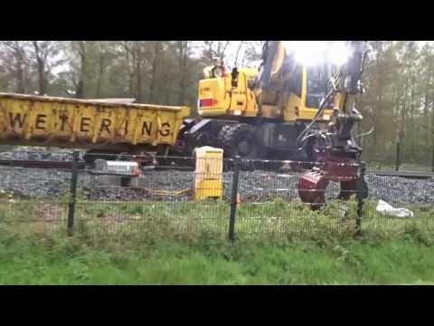 dag 9 spoorwerk Assen met film op 24-04-2017
