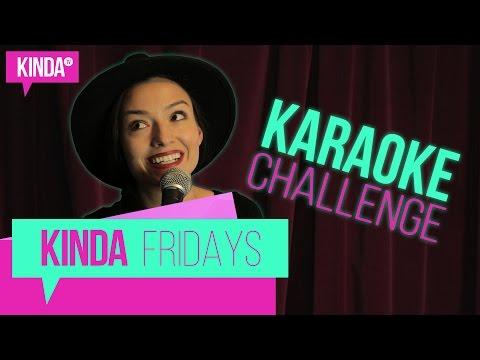 KARAOKE CHALLENGE PART 1 | KindaTV ft. Natasha Negovanlis