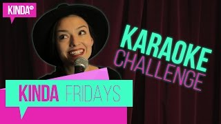 Karaoke challenge part 1 | kindatv ft. natasha negovanlis
