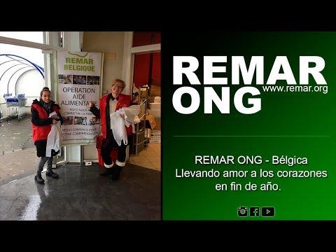 Remar ONG Bélgica - Llevando amor a los corazones en fin de año.