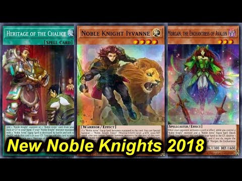 【YGOPRO】NEW NOBLE KNIGHT SUPPORT 2018