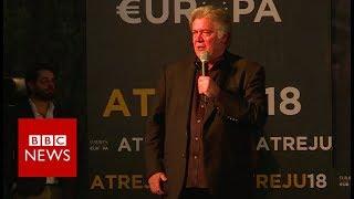 The Movement: Steve Bannon role in 2019 EU elections - BBC News