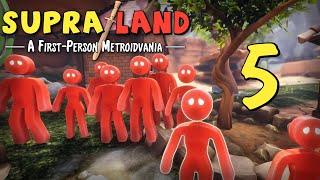 Supraland - Прохождение игры на русском - Подрабатываем садовником [#5] | PC