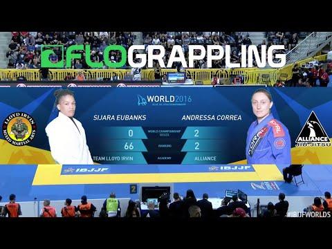 Andresa Correa VS Sijara Eubanks / World Championship 2016