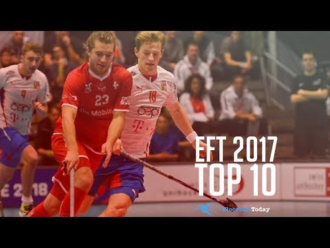 Euro Floorball Tour Kirchberg 2017 Top 10 Goals (Men)