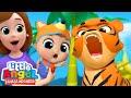 main dengan hewan di kebun binatang lagu anak little angel bahasa indonesia