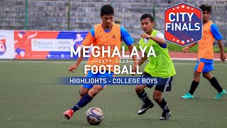 College Boys Finals Highlights | Shillong College vs St. Anthony's College