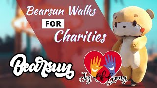 Walking For A Cause | LA To NY For Charity | The Joy of Giving