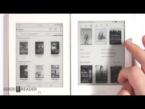 Nook vs Kindle bookstore