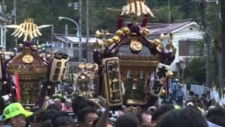 【あきる野市】あきる野三大まつり2014(正一位岩走神社例大祭)