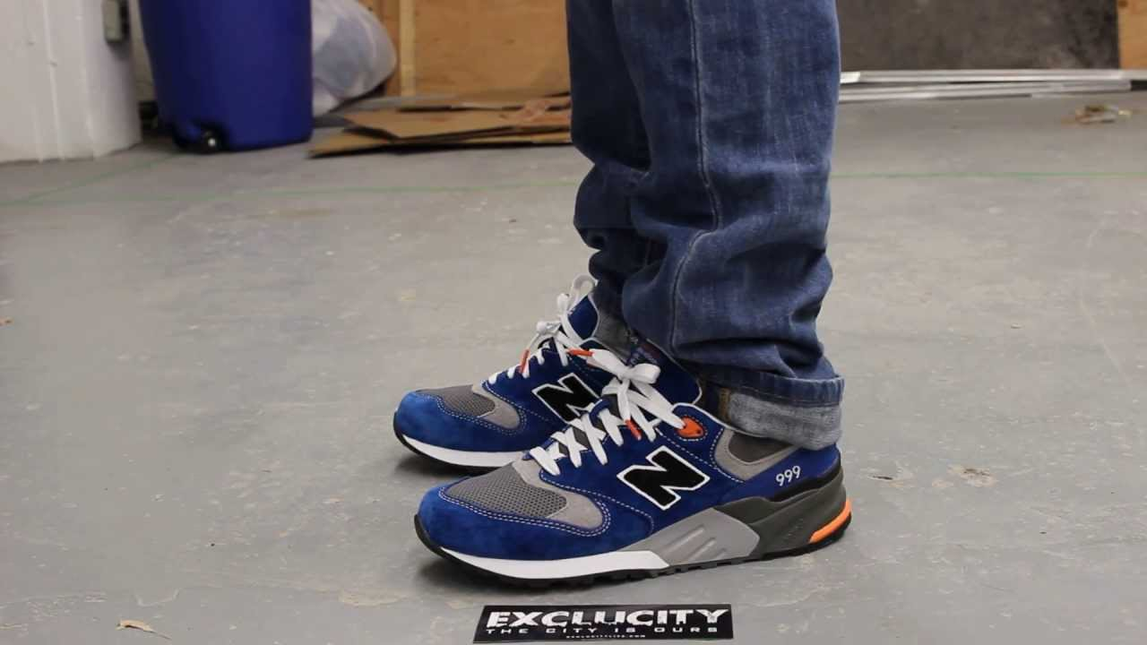 new balance 999 wanted on feet