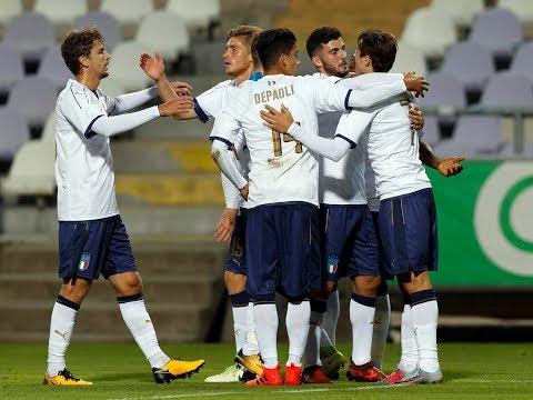 Highlights Under 21: Ungheria-Italia 2-6 (5 ottobre 2017)