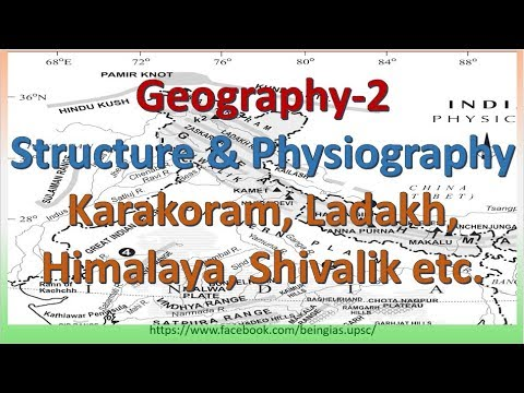 Geo-2: Structure and Physiography | Physical Features of India