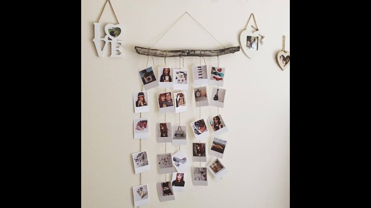 A Way To Display Your Polaroid Pictures Youtube