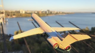 Cool Matches Powered Cardboard Triple Jet