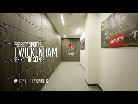 Twickenham Behind The Scenes With Priority Sports