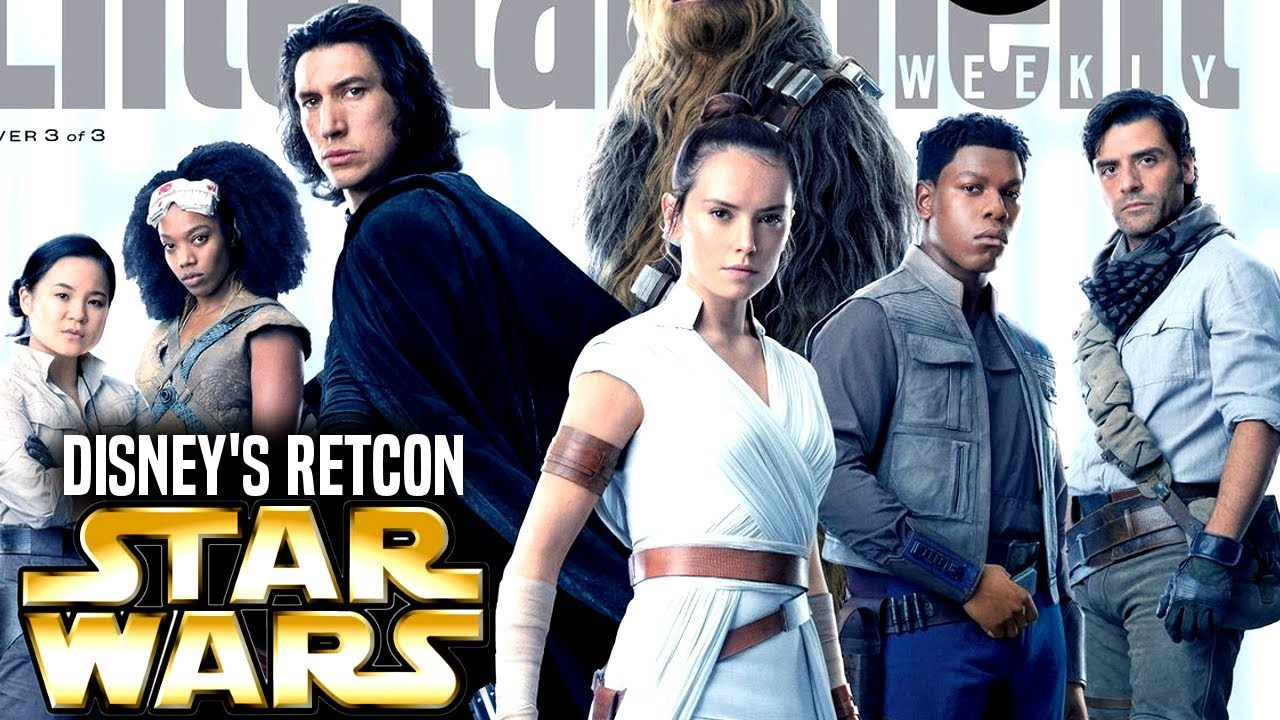 Disney Wants To Retcon The Sequel Trilogy Now Star Wars Explained Youtube