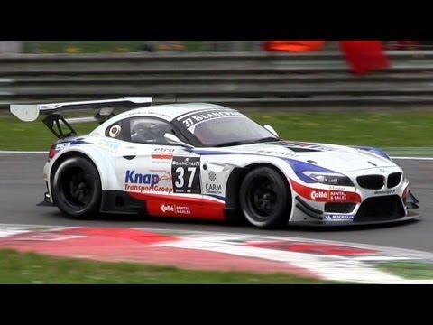 BMW Z4 GT3 Amazing V8 SOUND