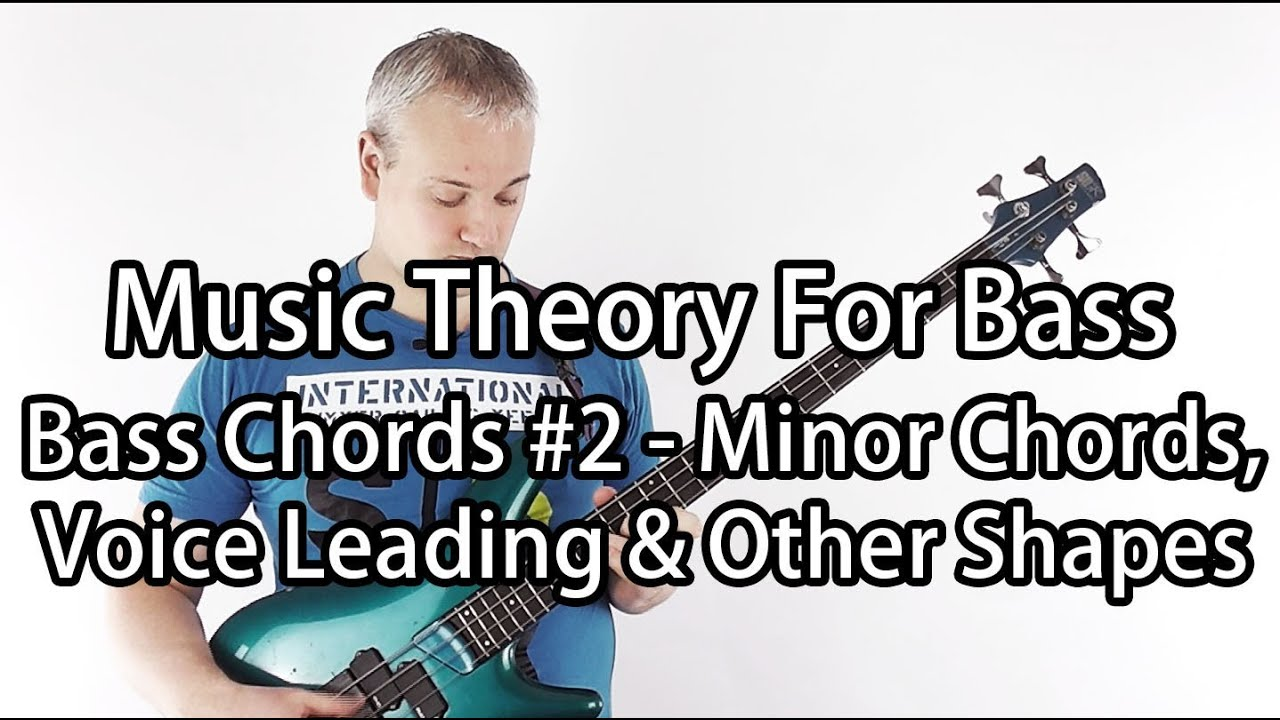Minor Chords For Bass Guitar Youtube