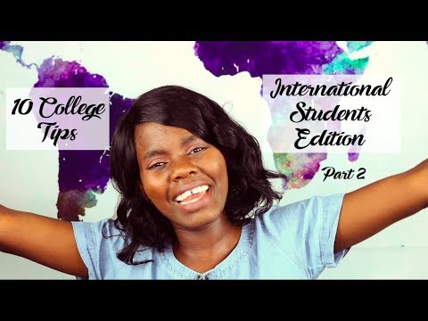 10 College Tips -International Students 2