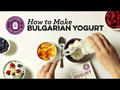 How to Make Bulgarian Yogurt