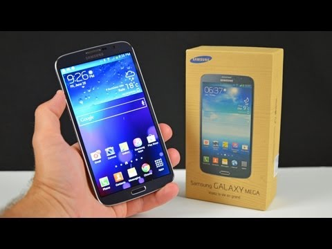"Samsung Galaxy Mega 6.3"": Unboxing & Review"