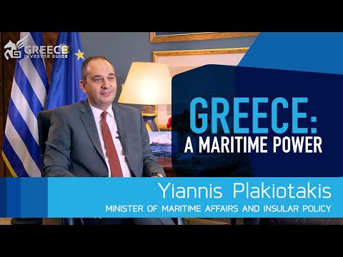 Yiannis Plakiotakis, Minister of Maritime and Insular Policy - Greece Investor Guide (1)