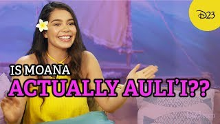 See How Auli'i Cravalho Influenced Moana!