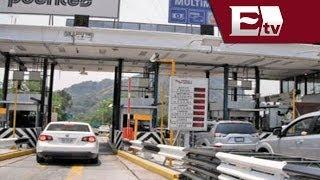 Caminos y Puentes Federales: 50% de descuento en caseta Cuernavaca - Acapulco/ Mariana y Kimberly