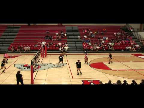 High School Volleyball: EHS vs. St. Anthony, Annual Pink Out Match