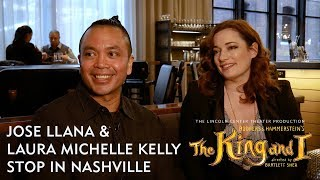 'The King & I' Jose Llana & Laura Michelle Kelly at Gray & Dudley | TPAC TV
