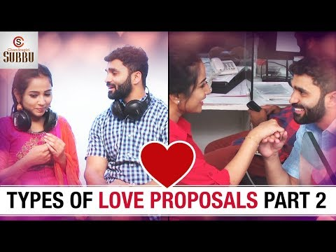 Types Of LOVE Proposals | Part 2 | Latest...