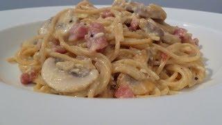 My Wife's Spaghetti Carbonara Cook-Along Video