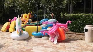 2020 10 10 Hainan Sanya Marriot Hotel Swimming Pool