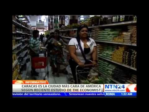 Estudio de The Economist revela que Caracas es la ciudad más cara del continente americano