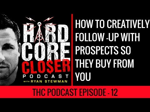 How To Creatively Follow-Up With Prospects So They Buy From You - Sales Training Video