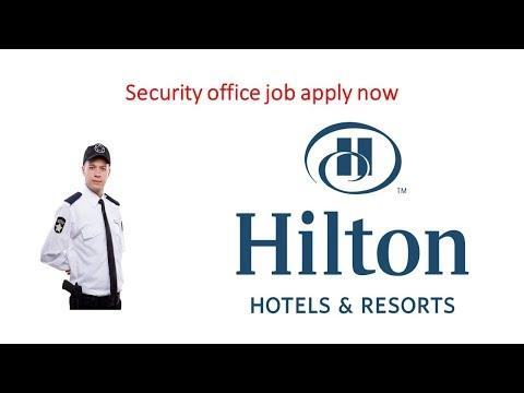 Security Officer Job Vacancy In UAE Hilton Hotel