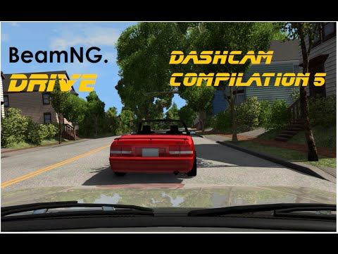 BeamNG. Drive - Dashcam Crashes Compilation 5 [Real Voices]