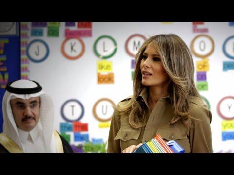Melania and Ivanka Trump focus on new freedoms for women in Saudi Arabia
