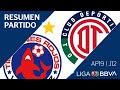 Resumen Y Goles   Veracruz Vs Toluca   Jornada 12 - Apertura 2019   Liga BBVA MX