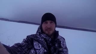 Моя первая зимняя рыбалка Волчихинское водохранилище 16 11 2019