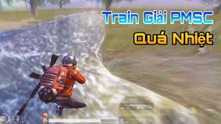 [PUBG Mobile] Train Giải PMSC Căng Thẳng Team Quét 43 Kill
