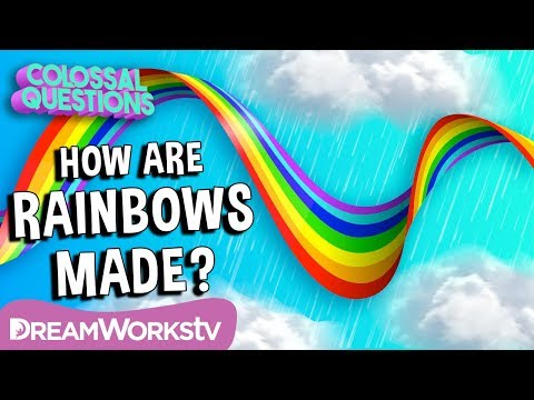 🌈🌈How Are Rainbows Made?  COLOSSAL QUESTIONS