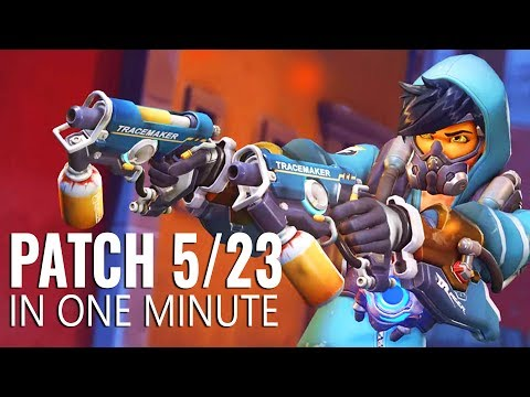 Overwatch Patch In a Minute - May 23rd