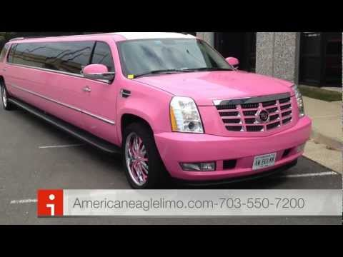 "Exotic Pink Limos in DC-VA -MD- The hottest ""Pink"" Limousines AND Pink Party Bus!!"