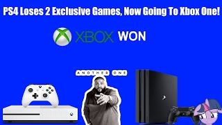 Ouch! PS4 Loses A Couple More Exclusives That Are Now Going To Xbox One!